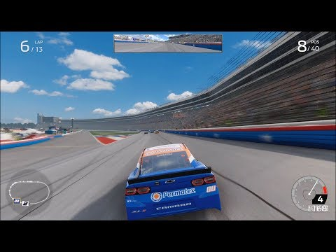 NASCAR Heat 4 - Texas Motor Speedway - Gameplay (Xbox One X HD) [1080p60FPS]