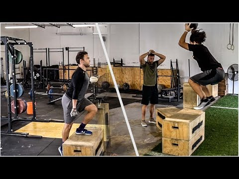 Low Level Plyos and Lower Strength | Overtime Athletes