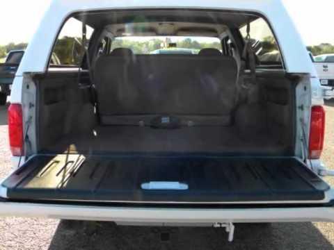 1992 FORD Bronco 2dr Wagon XLT YouTube