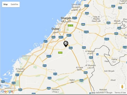 Damac Casablanca Boutique Villas, Location Map, Dubailand, Dubai ...
