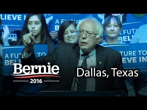 Bernie Sanders @ Dallas, Texas (Feb 27) *Recorded Livestream*