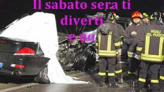 INCIDENTE DI UN SABATO SERA