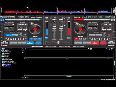 Reggae Mix Virtual Dj Tutorial