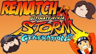 Naruto Shippuden Ultimate Ninja Storm Generations: Rematch - PART 3 - Game Grumps VS
