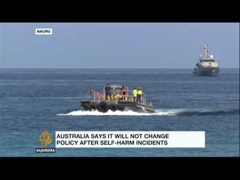Refugee sets herself on fire at Australia's Nauru camp