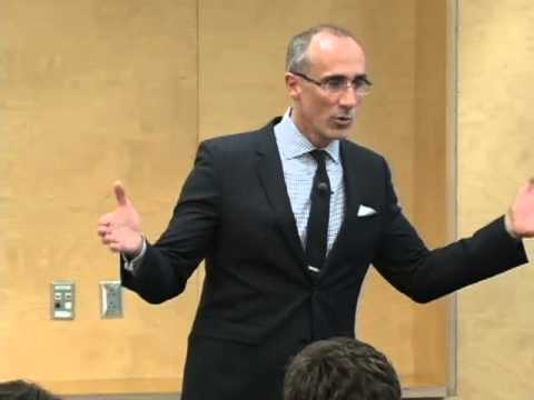 "Fall 2013 Yates Lecture: Arthur Brooks -  ""The Secret of Happiness"""