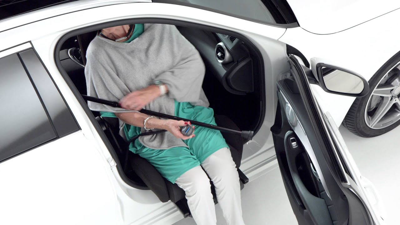 Car Seat That Helps Getting Into The