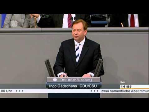 Ingo Gädechens - Rede im Deutschen Bundestag (225. Sitzung)