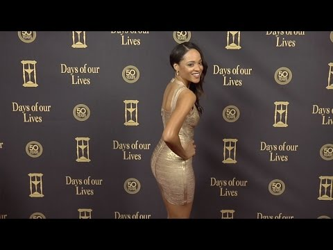 Sal Stowers Red Carpet Style at Days of Our Lives 50 Anniversary Party