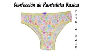 Confección de Pantaleta Básica