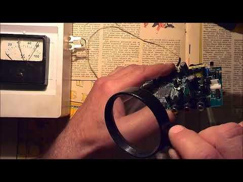 ESR - meter  в ремонте  цифрового ТВ приёмника .