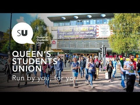 Queen's Students' Union - One of the UK's best students' unions!