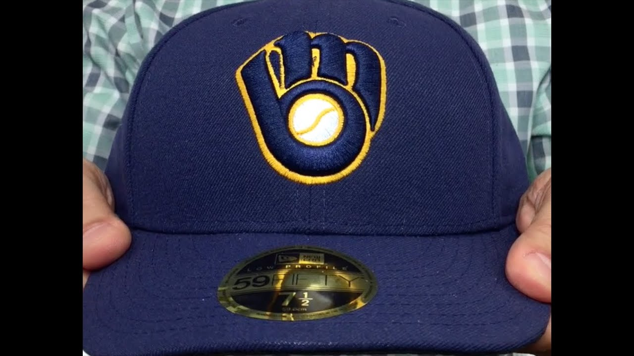 ... official store brewers low crown alternate fitted hat by new era 66bef  5d88f 2192810d8