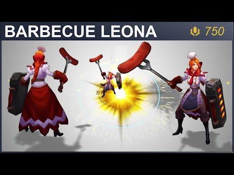 Barbecue Leona Skin Spotlight | SKingdom - League of Legends