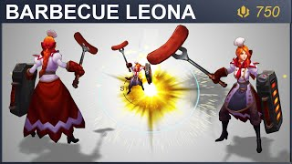 Barbecue Leona Skin Spotlight   SKingdom - League of Legends