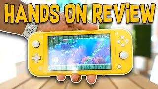 Nintendo Switch Lite is it WORTH BUYING? | runJDrun