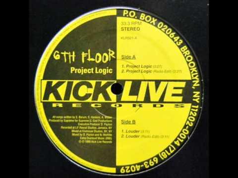 6TH FLOOR - PROJECT LOGIC ( rare 1995 NY rap )