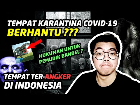 tempat-yang-paling-seram-di-indonesia-||-rumah-hantu-karantina-covid-19-||-#babe