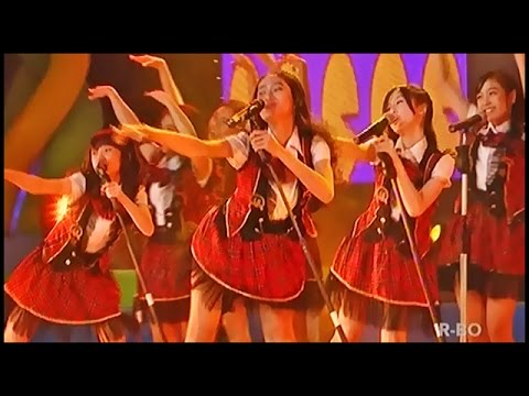 JKT48 - Heavy Rotation @ Grand Final Hi-Lo Green Ambassador @ TRANS7 [14.10.17]