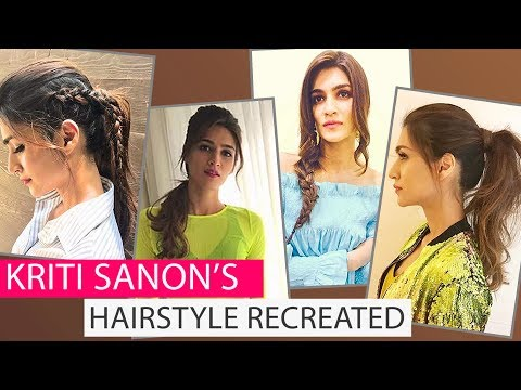 How to get Kriti Sanon's hairstyles | Hairstyle Trends 2017 | Fashion | PInkvilla | Bollywood