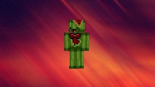 How To Make Derpy watermelon Skin [PixelGun3D]