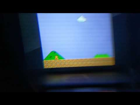 Fun with near eye displays! (...running Super Mario Bros)