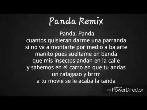 Panda remix Almighty Cosculluela Daddy Yankee ft Farruko  (letra)