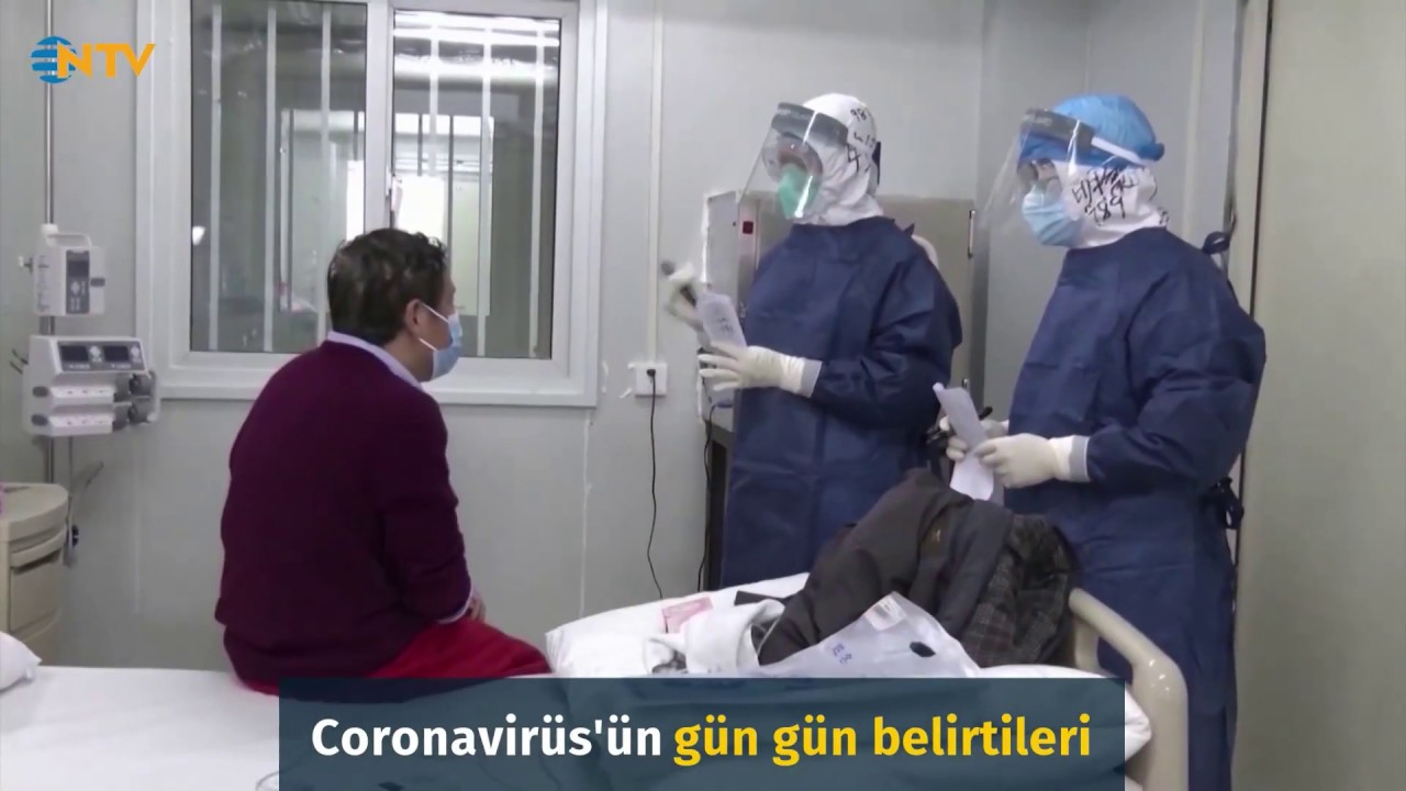 Virüsün gün gün belirtileri