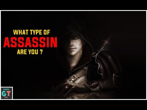 Which Type Of Assassins Are You ? Personality Test
