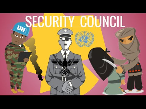 United Nations Security Council, Explained - International law Animation