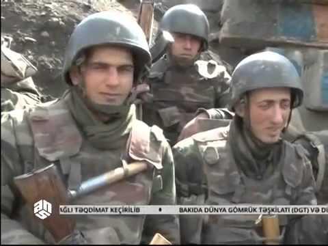 Бои в Карабахе, Азербайджан. Передовая, Азербайджанские бойцы наступают 4.04.2016