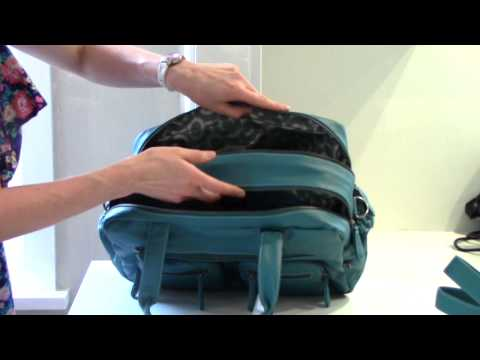OiOi Faux Buffalo Carryall Baby Bag | Nappy Bag Review
