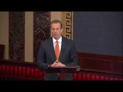Thune Discuss SCOTUS Nominee on Senate Floor