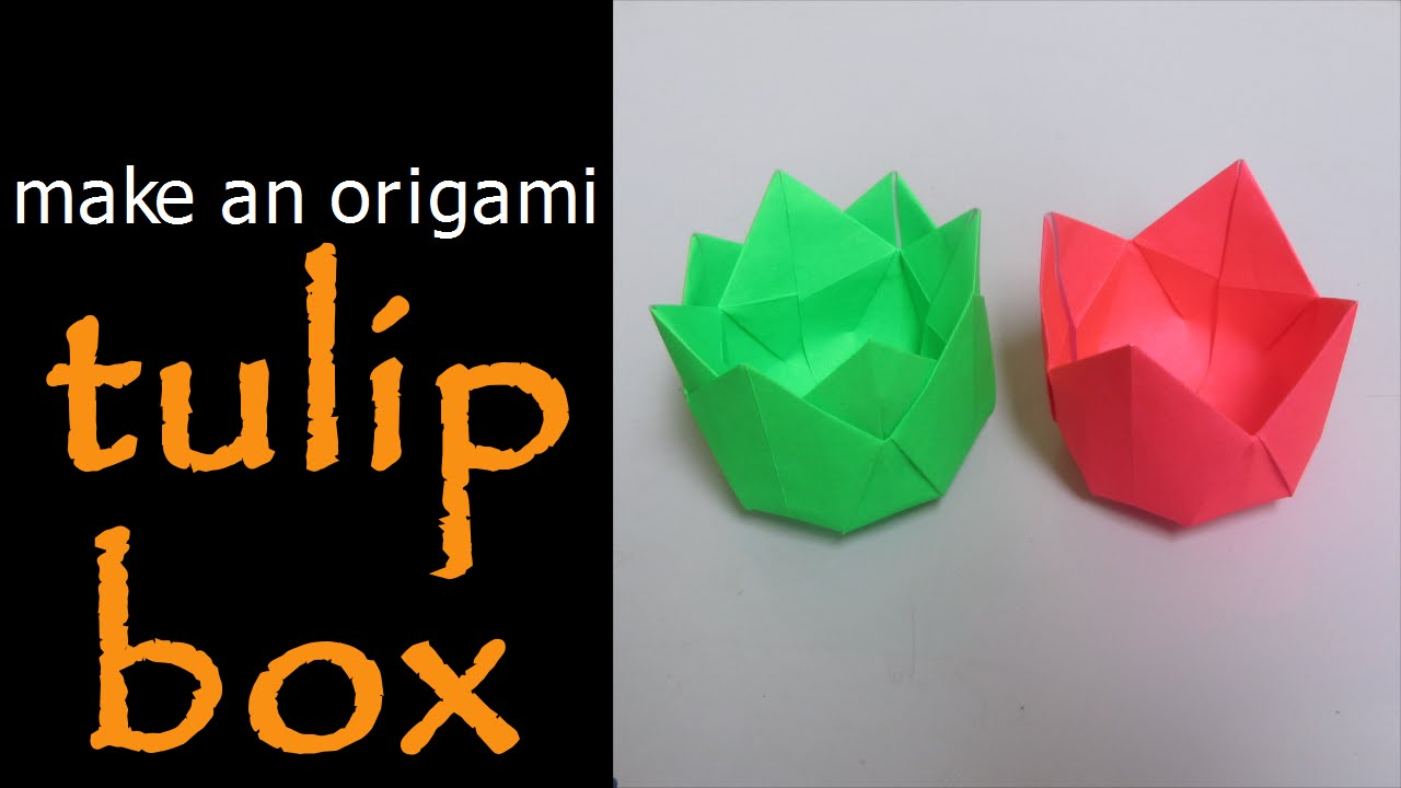 Origami Masu Box with Lid: Tutorial - YouTube | 720x1280