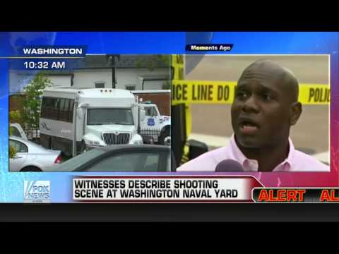 Breaking News : Eye Witnesses describe shooting at U.S. Navy Shipyard in DC (Sep 16, 2013)