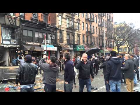 2nd Ave Explosion, East Village, NYC