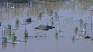 Midland, Michigan flooding, May 21, 2020