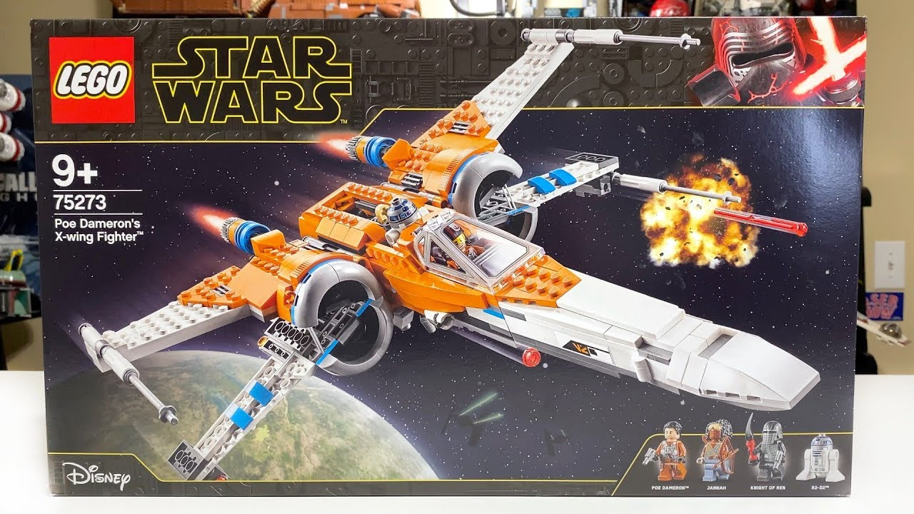 Lego Star Wars 75273 Poe Dameron S X Wing Fighter 2020 Set Review Youtube