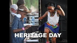 DJ Arch Jnr And BK Rocking Ventersdorp For Heritage Day 2018 (6yrs old)