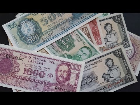 Paraguay Awesome Banknotes