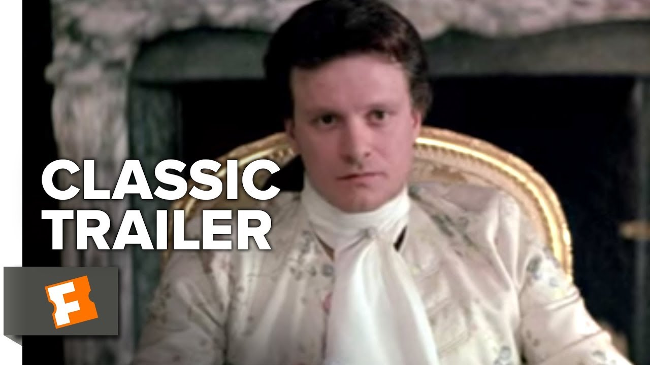 Download Valmont Official Trailer #1 - Colin Firth Movie (1989) HD