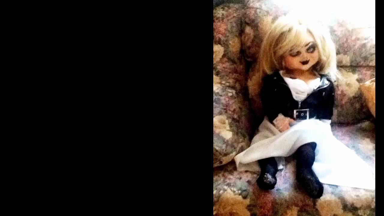 bride of chucky lifesize tiffany doll handmade latex youtube
