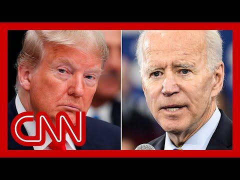 Donald Trump and Joe Biden, From YouTubeVideos