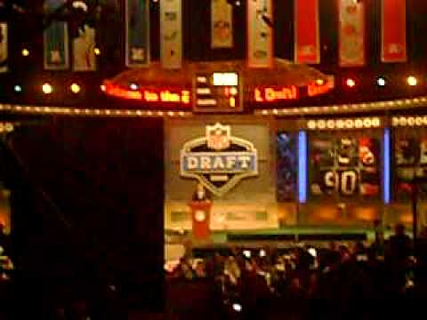 Miami Dolphins draft of Jake Long 2008 NFL Draft
