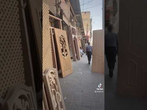 Wooden design & construction in Baghdad, Iraq
