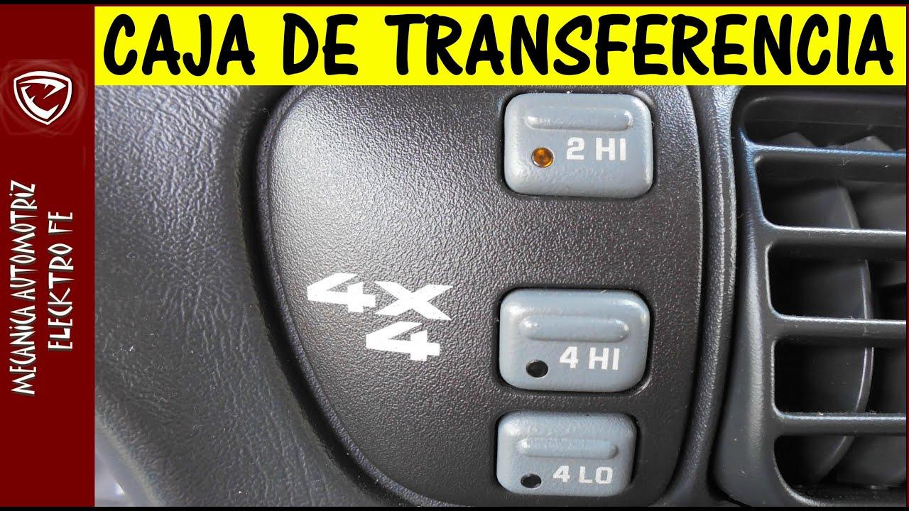 CAMBIO DE ACEITE DE CAJA DE TRANSFERENCIA 4 X 4 (transfer ...