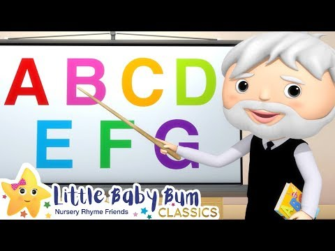 ABC Song - Learn The Alphabet | Nursery Rhymes and Baby Songs | Songs For Kids | Little Baby Bum