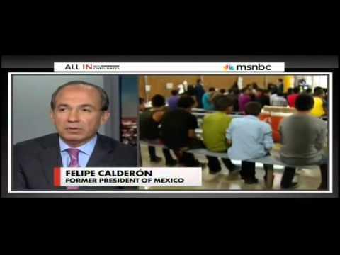 Calderon: U.S. Border Should Be 'More Flexible'