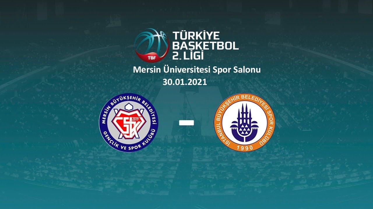 Mersin BBGSK – İstanbul BBSK TB2L 9.Hafta