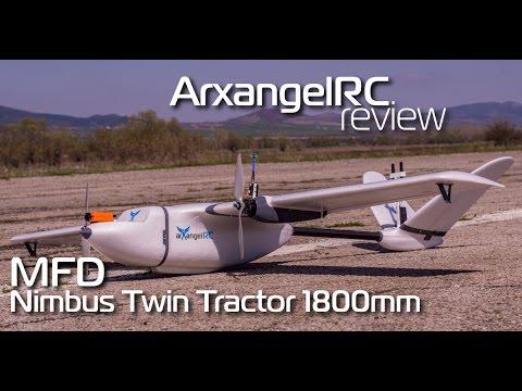 MyFlyDream MFD Nimbus 1800mm Wingspan Twin Motor FPV Aircraft Aerial Survey  RC Airplane KIT